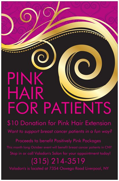 Pink Hair for Patients